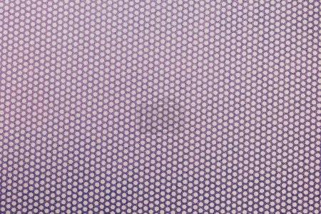 Foto de Vista superior de violeta manchados textil como fondo - Imagen libre de derechos