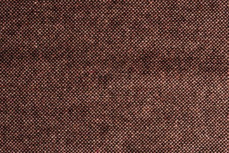 Photo for Top view of brown textile as background - Royalty Free Image