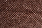 """Постер, картина, фотообои """"вид сверху коричневый текстиль как фон"""""""