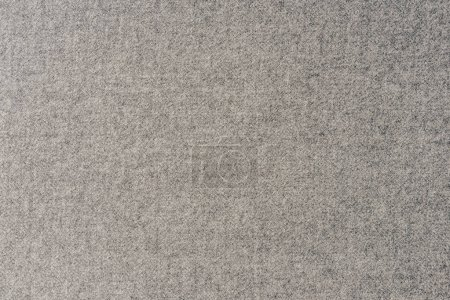 top view of grey textile as background