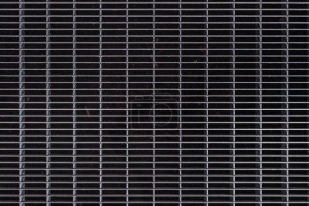 Photo pour Image plein cadre de fond de la cage de métal gris - image libre de droit