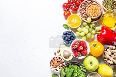 gesunde vegane Ernährung.