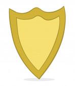 Vector illustration guard shield Hand drawn