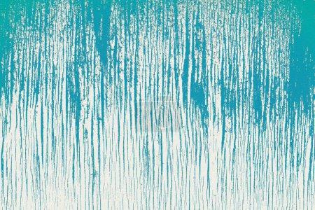 Photo pour Surface du mur de plâtre grunge peint en bleu et ivoire - image libre de droit