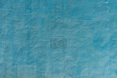 Foto de Fondo con textura de pared de hormigón rayado azul viejo - Imagen libre de derechos