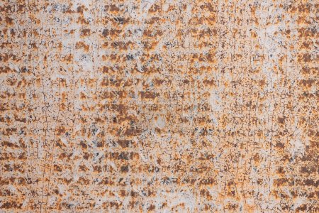 close-up view of old scratched grunge rusty background