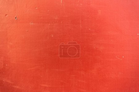 Photo for Close-up view of bright red scratched textured background - Royalty Free Image