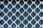 close-up view of creative decorative pattern, blue background