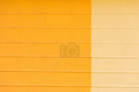 close-up view of blank orange and beige textured background