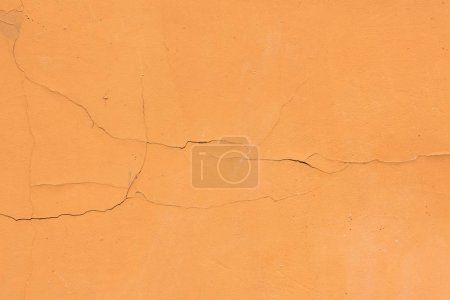 old orange weathered wall textured background