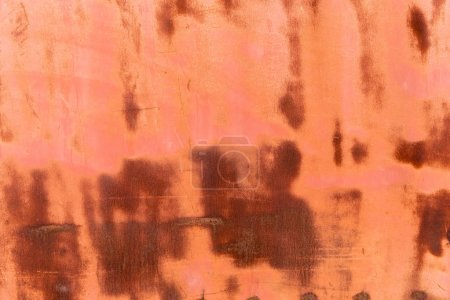 old brown rusty weathered metal background