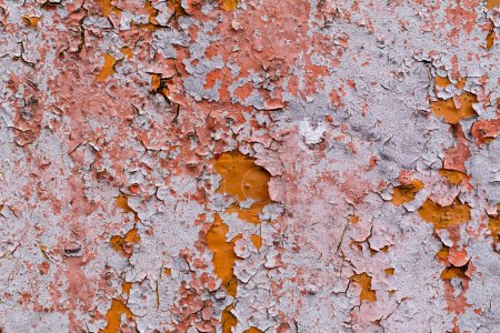 Photo for Close-up view of old weathered wall textured background - Royalty Free Image