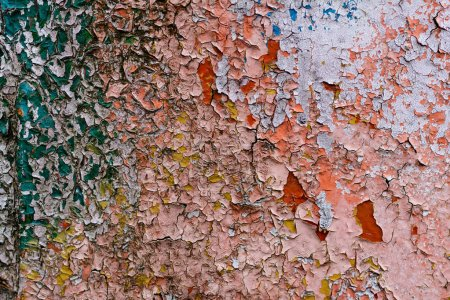 Photo for Close-up view of old weathered wall texture - Royalty Free Image