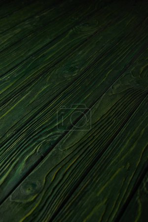 green wooden striped rustic background