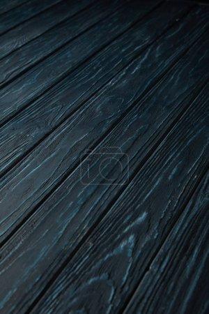 dark blue wooden striped rustic background