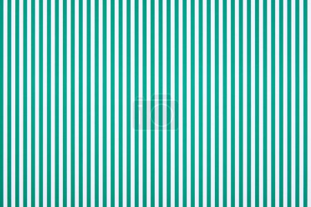 Photo for Striped green and white pattern texture - Royalty Free Image