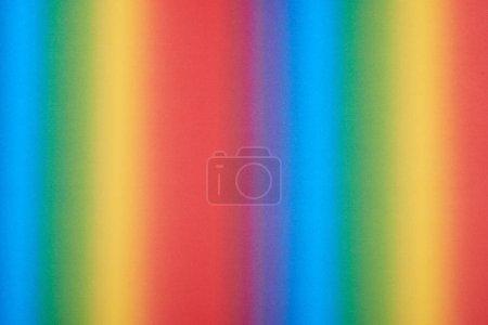 Photo pour Abstrait motif dégradé avec des couleurs de l'arc-en-ciel - image libre de droit