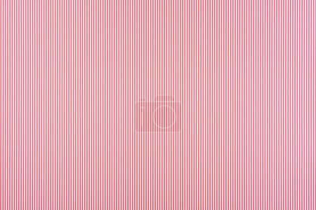 Photo for Striped red and white pattern texture - Royalty Free Image