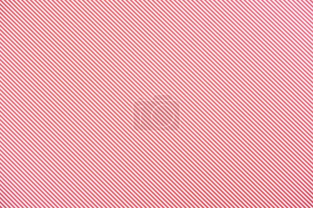 Photo for Striped diagonal pink and white pattern texture - Royalty Free Image