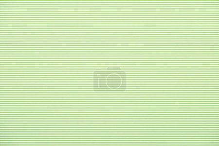 Photo for Striped horizontal green and white pattern texture - Royalty Free Image