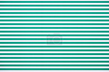 Striped horizontal green and white pattern texture
