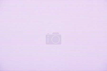 Photo for Striped horizontal purple and white pattern texture - Royalty Free Image