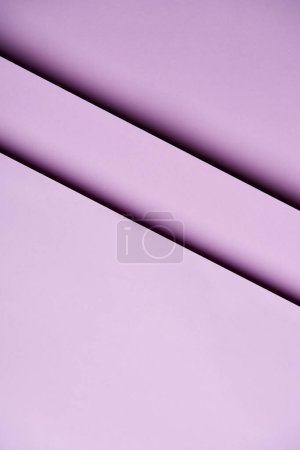 Abstract background with paper sheets in light purple tones