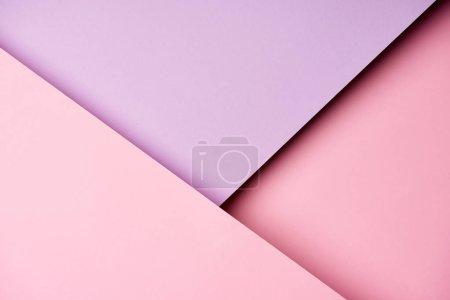 Motif diagonale de papier aux couleurs violets et roses