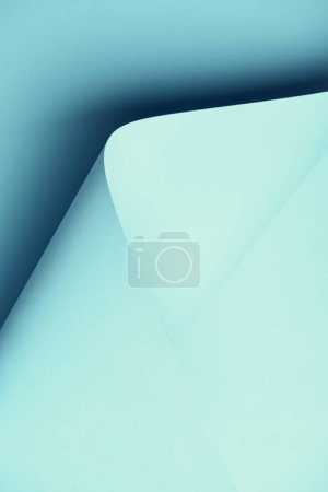 close-up view of beautiful blue abstract paper background