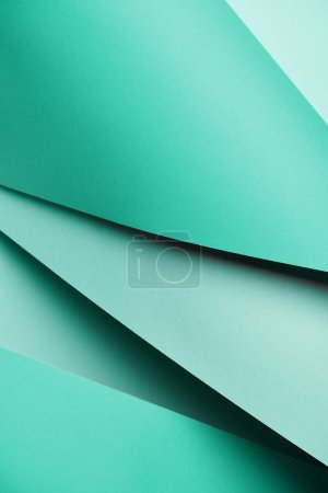 abstract creative bright turquoise textured paper background
