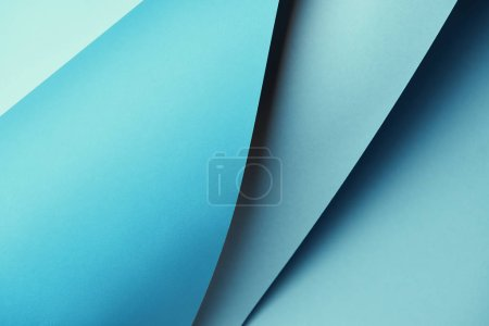 abstract creative bright blue textured paper background