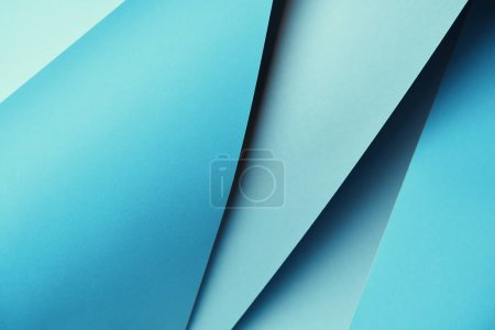 Photo for Beautiful bright blue textured paper background - Royalty Free Image