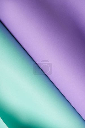 Photo for Beautiful abstract bright purple and turquoise textured paper background - Royalty Free Image