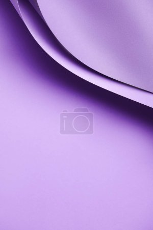 close-up view of beautiful abstract purple paper background