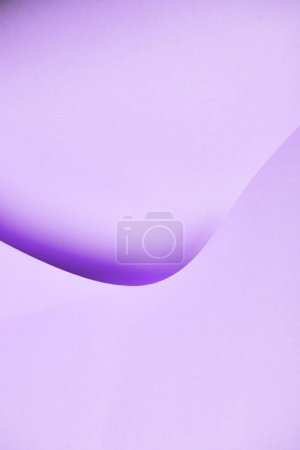 close-up view of beautiful abstract light violet paper background