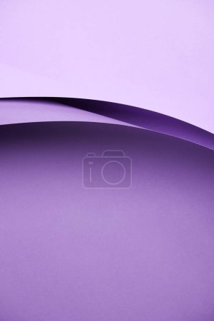 close-up view of beautiful abstract violet paper background