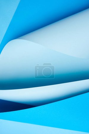 creative blue colored abstract paper background