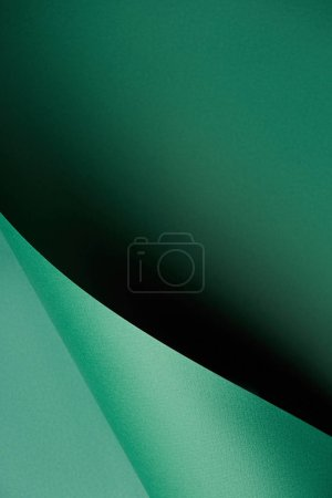 green abstract colored paper textured background