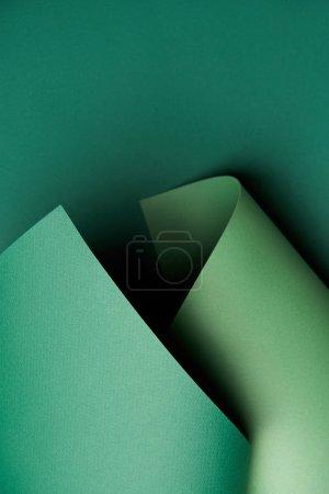Photo pour Fond de beau papier vert abstract lumineux - image libre de droit
