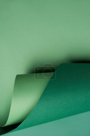 beautiful abstract green paper background