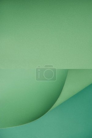 beautiful empty green textured paper background