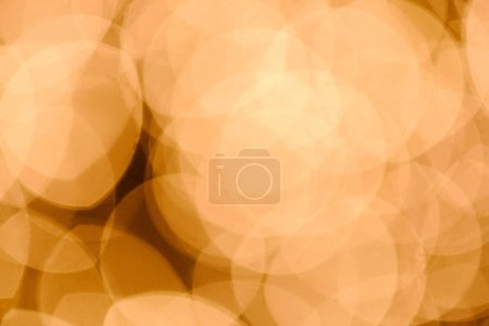bright defocused bokeh lights as backdrop