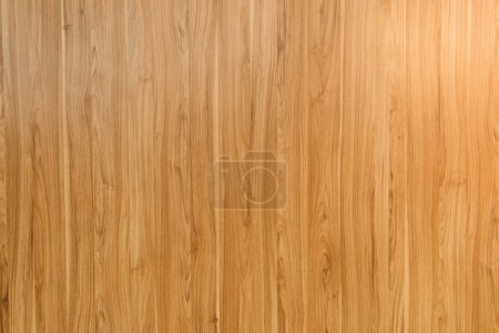Photo for Close-up view of light brown horizontal wooden background - Royalty Free Image