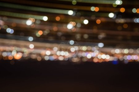 Photo for Blurred night background with bright illumination - Royalty Free Image