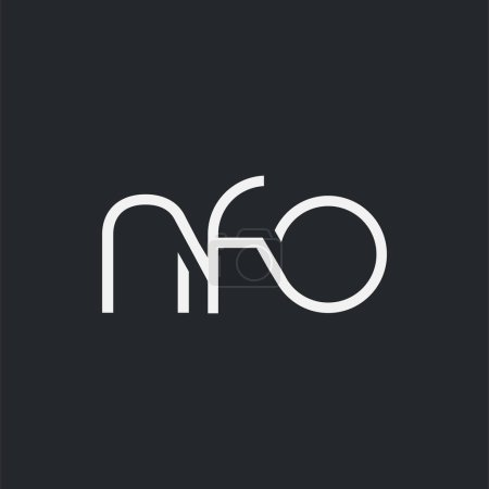 Logo joint nfo for Business Card Template, Vector...