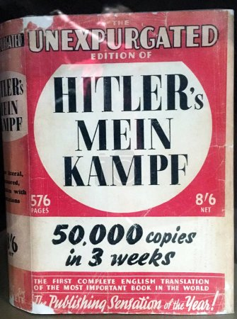 Hitlers Mein Kampe,1925 autobiographical book by Nazi Party leader Adolf Hitler, describes the process by which Hitler became antisemitic and outlines his political ideology.