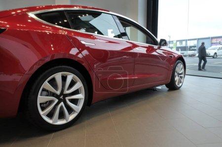The plugin electric car Model