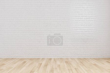 Photo for Large luxury modern bright interiors room illustration 3D rendering computer generated image not photos and not private property - Royalty Free Image