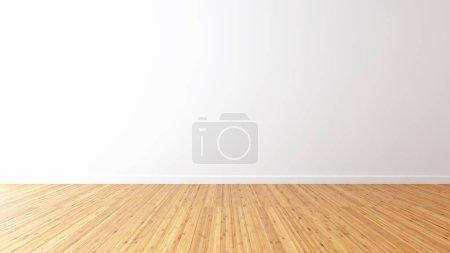 Photo pour Grand luxe moderne lumineux intérieurs chambre vide illustration rendu 3D image générée par ordinateur - image libre de droit