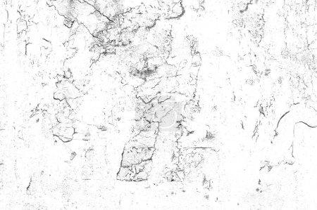 Photo pour Fond blanc grunge noir. Résumé superficiel par les agents de texture. Motif monochrome de fissures, éraflures, taches, poussière - image libre de droit